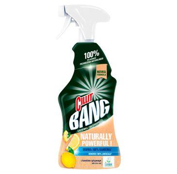 Cillit Bang Naturally Powerful spray czyszczący do łazienki z kwaskiem cytrynowym (750 ml)