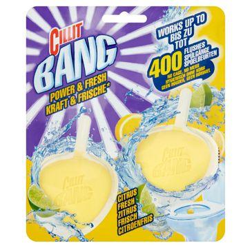 Cillit Bang Power & Fresh kostka do toalety Cytrusowa Świeżość 2x40g