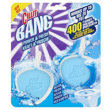 Cillit Bang Power & Fresh kostka do toalety Morskie Minerały 2x40g