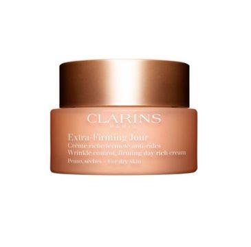 Clarins Extra Firming Day Cream 40+ krem przeciwzmarszczkowy na dzień do cery suchej 50ml