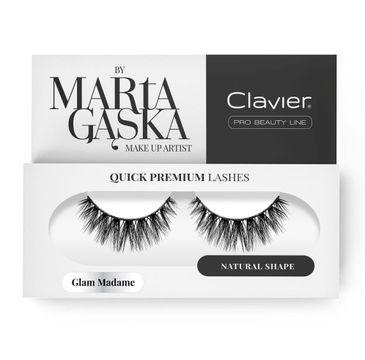 Clavier Quick Premium Lashes rzęsy na pasku Glam Madame 829