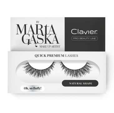 Clavier Quick Premium Lashes rzęsy na pasku Oh So Fluffy 3D SK57
