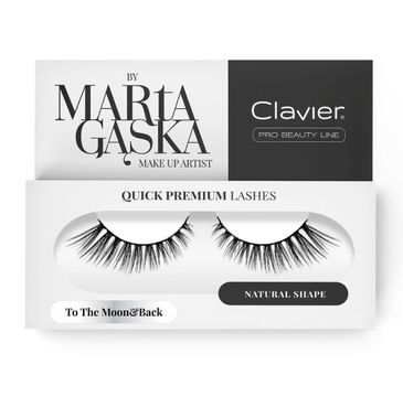 Clavier Quick Premium Lashes rzęsy na pasku To The Moon & Back 801