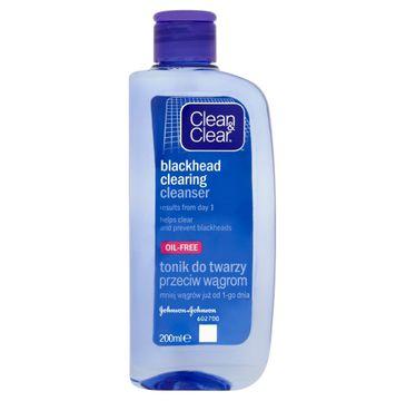 Clean&Clear Oczyszczający tonik do twarzy przeciw wągrom 200 ml