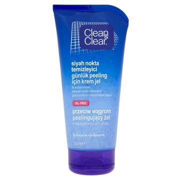 Clean&Clear Peelingujący żel do twarzy przeciw wągrom 150 ml