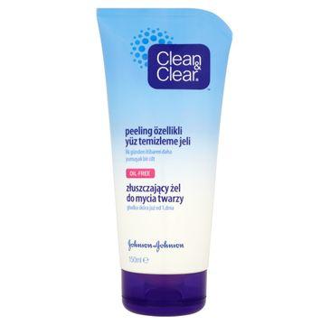 Clean&Clear Złuszczający żel do mycia twarzy 150 ml