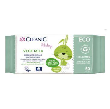 Cleanic 鈥� Chusteczki dla dzieci Vege Milk (1 op.)