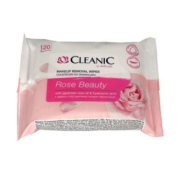Cleanic Chusteczki do demakijażu Rose Beauty 1op.-20szt