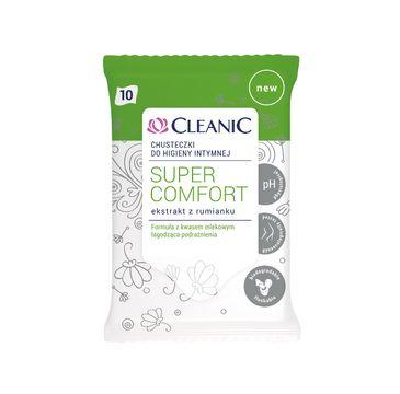 Cleanic chusteczki do higieny intymnej Super Comfort 10 szt 1 op.