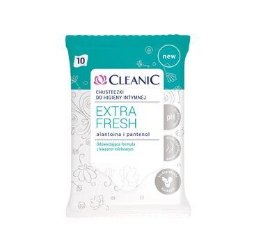 Cleanic Extra Fresh chusteczki do higieny intymnej 1 op. - 10 szt.