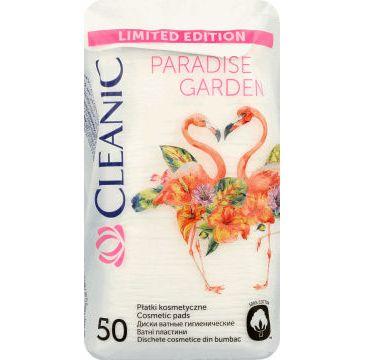 Cleanic Paradise Garden Płatki kosmetyczne kwadratowe 50 szt
