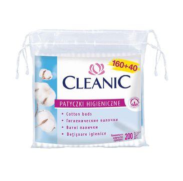 Cleanic – Patyczki higieniczne 160+40 (1 op.)
