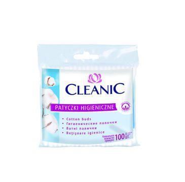 Cleanic patyczki higieniczne folia 1 op. - 100 szt.