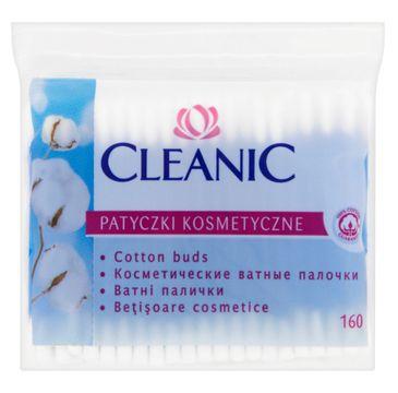 Cleanic patyczki higieniczne folia 1 op-160 szt.