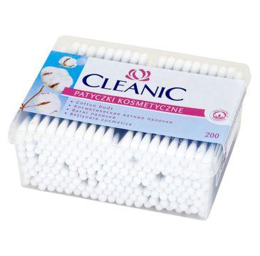 Cleanic patyczki higieniczne pudełko kwadratowe 1 op - 200 szt.