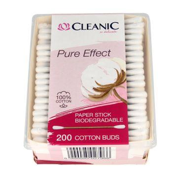 Cleanic Patyczki higieniczne Pure Effect  1op.-200szt