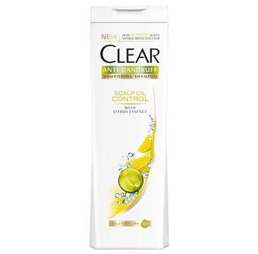 Clear Scalp Oil Control szampon do włosów przetłuszczających się przeciwłupieżowy 400 ml