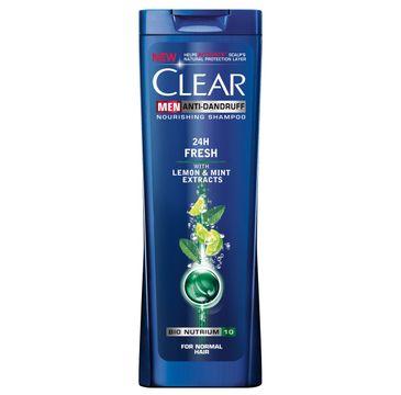 Clear szampon do włosów przeciwłupieżowy dla mężczyzn odświeżający 400 ml
