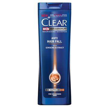Clear szampon do włosów słabych przeciwłupieżowy dla mężczyzn 400 ml