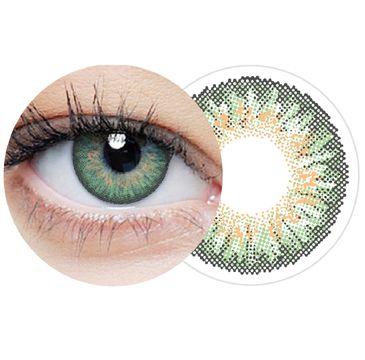 Clearlab Clearcolor 1-day Green jednodniowe kolorowe soczewki kontaktowe FL334 -1.75 (10 szt.)