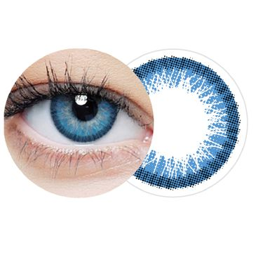 Clearlab Clearcolor 1-day Light Blue jednodniowe kolorowe soczewki kontaktowe CL240 -2.00 (10 szt.)