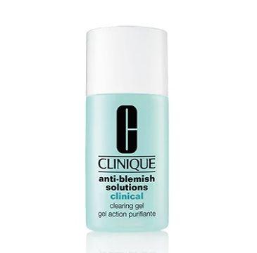 Clinique Anti-Blemish Solutions Clinical Clearing Gel (żel przeciwtrądzikowy 30 ml)