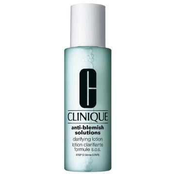 Clinique AntiBlemish Clarifying Lotion - antybakteryjny płyn złuszczający i redukujący nadmiar sebum (200 ml)