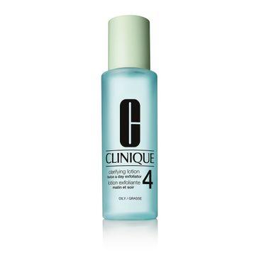Clinique Clarifying Lotion 4 – płyn złuszczający do cery tłustej (200 ml)