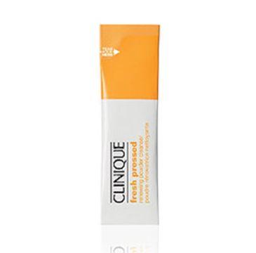 Clinique Fresh Pressed Renewing Powder Cleanser With Pure Vitamin C – rozpuszczalny proszek do oczyszczania twarzy w saszetce (0.5 g)