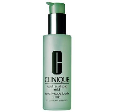 Clinique Liquid Facial Soap Mild –  mydło w płynie do twarzy – skóra sucha i mieszana (200 ml)