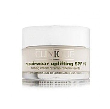 Clinique Repairwear Uplifting SPF 15 Firming Cream Odmładzający krem do twarzy i dekoltu cera tłusta i mieszana 2-3 50ml