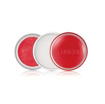 Clinique Sweet Pots Sugar Scrub & Lip Balm cukrowy peeling i balsam nawilżający 01 Red Velvet 12g