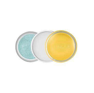 Clinique Sweet Pots Sugar Scrub & Lip Balm cukrowy peeling i balsam nawilżający 07 Citron Bleu 12g