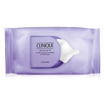 Clinique Take The Day Off Micellar Cleansing Towelettes For Face & Eyes - chusteczki micelarne do twarzy i oczu (50 szt.)