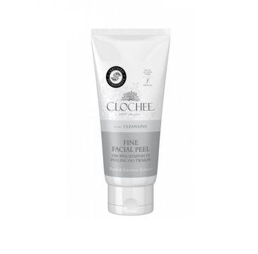Clochee Fine Facial Peel drobnoziarnisty peeling do twarzy Basil & Licorice Extract 100ml