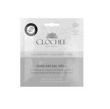 Clochee Fine Facial Peel drobnoziarnisty peeling do twarzy Basil & Licorice Extract 2x6ml