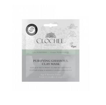 Clochee Purifying Ghassoul Clay Mask oczyszczająca maska z glinką Ghassoul (2 x 6 ml)