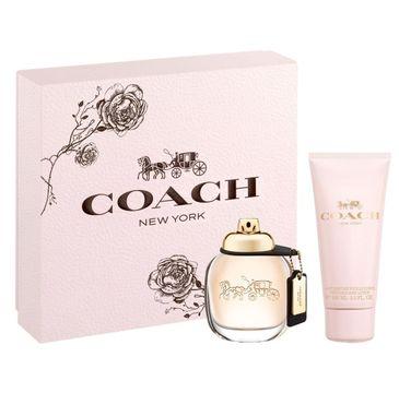 Coach Woman zestaw woda perfumowana spray 50ml + balsam do ciała 100ml