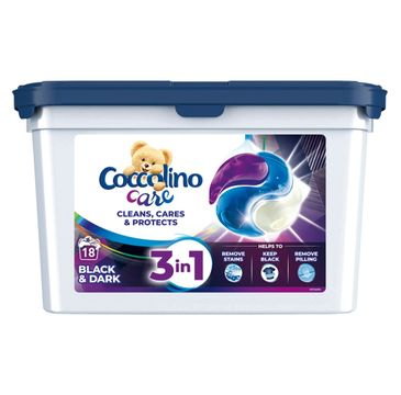 Coccolino – Care kapsułki do prania Black 18 szt. (1 op.)