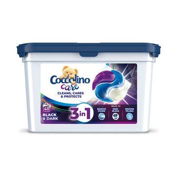 Coccolino Care kapsułki do prania tkanin czarnych i ciemnych 3w1 (40 szt.)