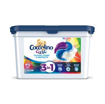 Coccolino Care kapsułki do prania tkanin kolorowych 3w1 (40 szt.)