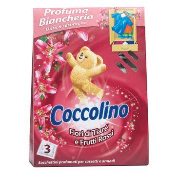 Coccolino Fiori Di Tiare E Frutti Rossi saszetki zapachowe do szafy 3szt
