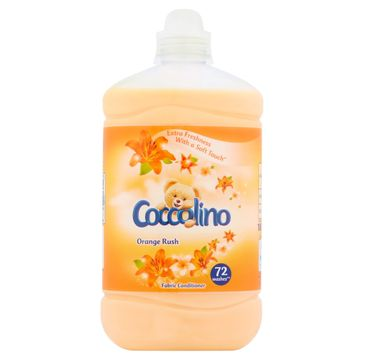 Coccolino płyn do płukania tkanin Orange Rush (72 prania) 1,8 l