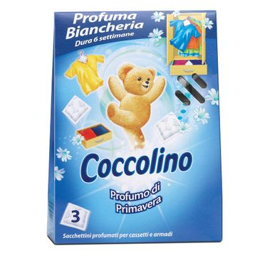 Coccolino Profumo Di Primavera saszetki zapachowe do szafy 3szt
