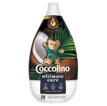 Coccolino Ultimate Care Płyn do płukania tkanin Coco Fantasy 58 prań (870 ml)