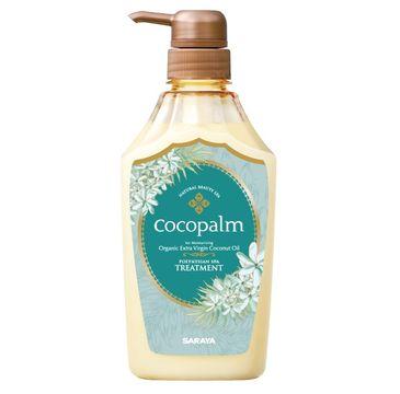 Cocopalm Polynesian Spa Treatment odżywka do włosów z organicznym olejem kokosowym i keratyną (600 ml)