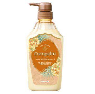Cocopalm Southern Tropics Spa Treatment odżywka do włosów z organicznym olejem kokosowym i keratyną (600 ml)