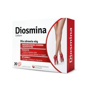 Colfarm Diosmina dla zdrowia nóg suplement diety 30 tabletek