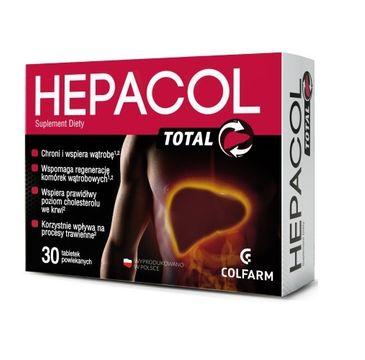 Colfarm Hepacol Total suplement diety 30 tabletek