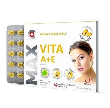 Colfarm Max Vita A + E zdrowa i piękna skóra suplement diety 30 kapsułek
